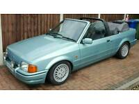 Ford escort xr3i mfi convertible (please read full description)