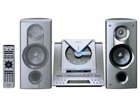 Super Cool Retro Silver Wedge Stereo CD