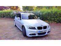 Beautiful BMW Msport 325d auto runs like new f/s/h full leather interior and loaded with extras
