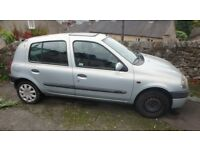 Renault Clio 1.4 Alize 5dr MOT and service history, very well looked after