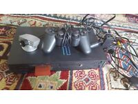 Ps2 with eye toy camera