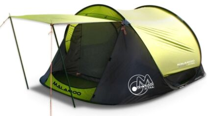 Oztent Malamoo X-Tra 3P Pop Up Tent - like new, barely used