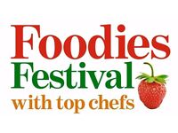 Event Volunteering with Foodies Festival!