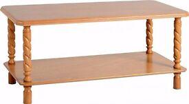 (Brand New) Brunton Long John Coffee Table - Antique Pine SPV93005 - RRP £47