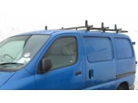 Van Roof Rack with ladder roller