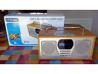 Logik DAB & FM Portable Stereo Radio LOGR118D ~ DAB Digital Audio Broadcasting