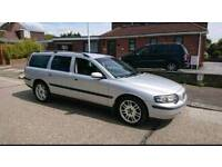 2004 volvo v70 2.5t manual rare, 7 seater, one owner from new