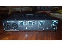 Focusrite Saffire Pro 14 Audio Interface 8inputs / 6 outputs (Urgent)
