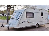 2009 COMPASS CORONA CLUB 462, 2 BERTH WITH END LARGE BATHROOM, LIGHT WEIGHT, CRiS CHECK (HPI)