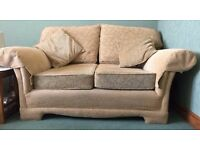 2 Seater and 3 Seater Settee, From a Smoke Free, Pet Free & kid Free home