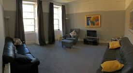 Newly furnished ,spacious , 2 x double bedroom flat for rent , high street , Brechin