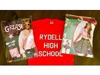 Grease fancy dress bundle / Rydell High School