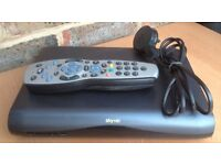 Sky + Plus HD Box Amstrad DRX595 C DRX595C HD 3D Ready Multi-room Satellite receiver with remote
