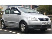 £995! *2007 VW FOX *10 Months MOT *1.2 *Silver 3Dr *Ideal First Car *Service History *PartEx Welcome