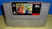 SNES Mario's Missing Game