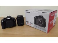 Canon EOS 600D EOS Digital SLR and Compact System Cameras Full Kit With Backpack.