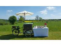Pashley Ice cream tricycle bike cart van for sale with rechargable freezer
