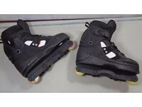 Anarchy Chaos3 UK Size 11 Agressive Inline Skates