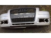 Audi A3 front bumper with black Grille 2004-2008