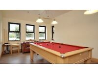 Pool Table 7ft x 4ft Oak made by Baizecraft
