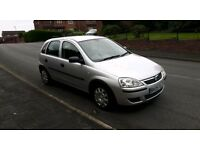 2005 vauxhall corsa 1.2 16v low mileage clean car