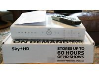 SKY + Box c/w remote. No card. Good working order
