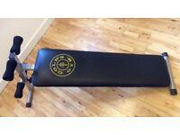 Gold's gym ab board