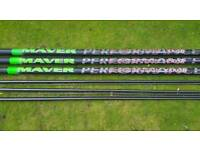 Maver distinction 16 m sr pole sections wanted