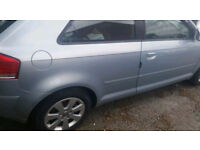 Audi A3 8P 2004 2,0 fsi petrol Crystal Blue - Spairs and parts