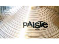 """Used Paiste 802 13"""" Hi-hat BOTTOM CYMBAL ONLY"""