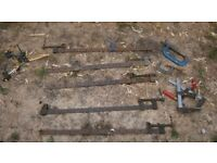 5 sash clamps & a few other clamps