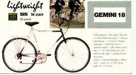 Raleigh Gemini