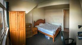 Cheap enormous attic room