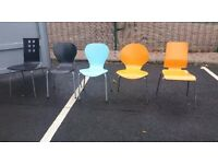 Lot of Retro Urban Funky Cafe Bar Restaurant Chairs x 70