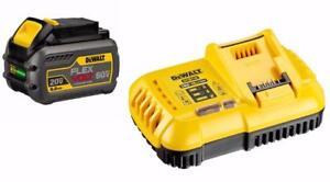 Dewalt DCB118 Fast Charger + DCB606 20V/60V Lithium Ion 6.0 Ah battery $199.99