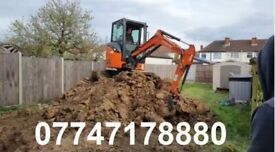 Digger and Driver Hire - same day or next day available
