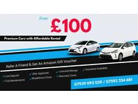 PCO CARS FOR RENT, LOW DEPOSIT, £100 PER WEEK CHEAPEST IN LONDON