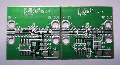 Develop Pcb For Agilent 0.5-6ghz Lna Mga-86563 Qty.2