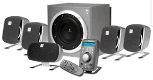 Logitech Z-680 (Dolby Digital) Surround Sound Fawkner Moreland Area Preview