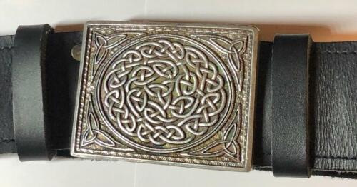Glen Esk Mens Traditional Scottish Celtic Kilt Belt Buckle