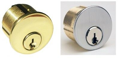 Ilco Sc1 Schlage Keyway Dull Chrome Or Brass Mortise Lock 2 Cylinder