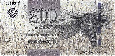 Färöer Inseln / Faeroe Islands 200 Kronen (2012) Pick 31