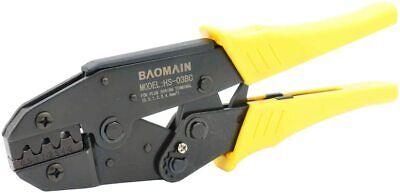 Baomain Ratchet Crimper Plier Hs-03bc Yellow