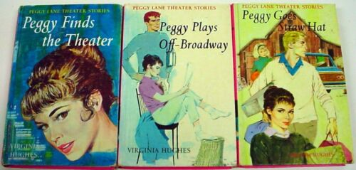 Peggy Lane Theater Stories 3 Book Lot nos.1, 2, & 3 by Virginia Hughes Straw Hat