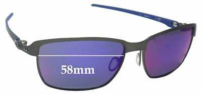 SFx Replacement Sunglass Lenses fits Oakley Tinfoil Carbon OO6018 - 58mm Wide