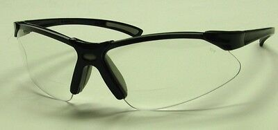 10 Prs Venusx Half-height Bifocal Reading Safety Glasses Clear 1.5 S7610q15s