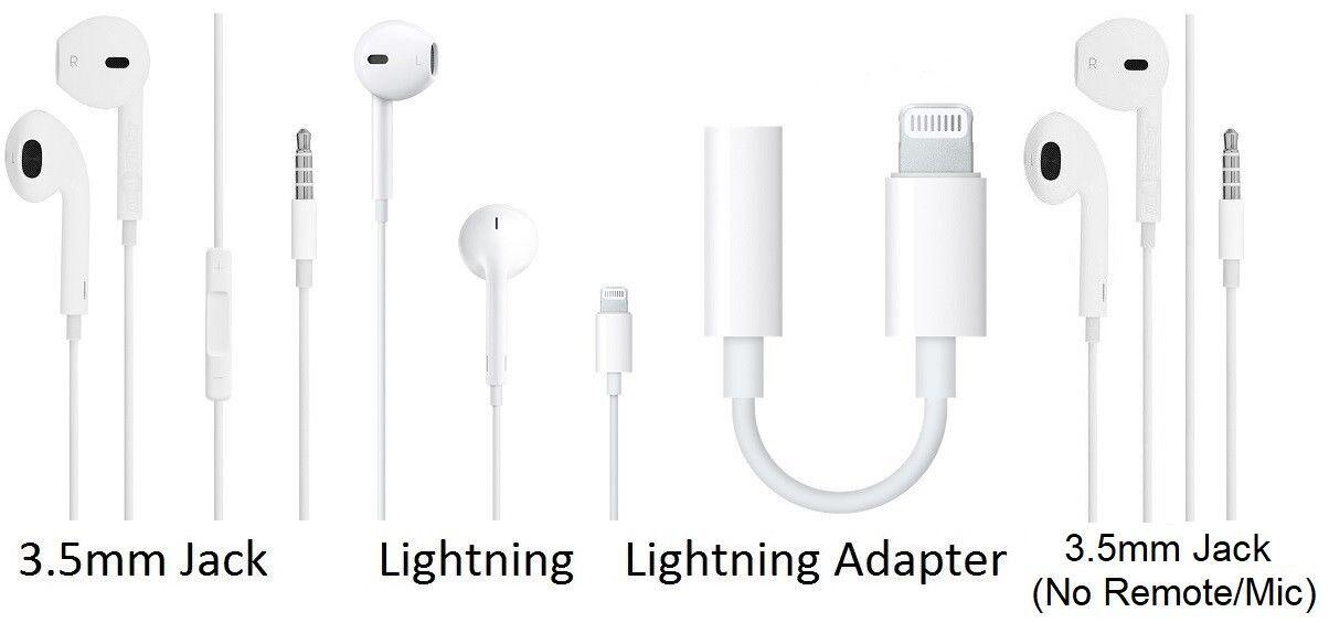 Genuine Apple MD827LL/A Earpods Earphones for iPhone X 8 7 6