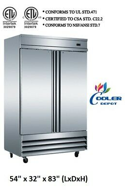 Nsf Two Door Freezer Cfd-2ffcommercial Reach In Freezer Refrigeratorrestaurant