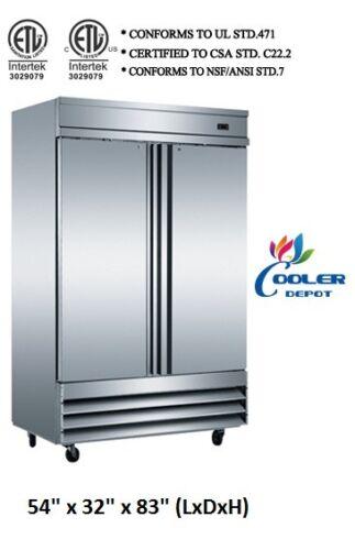 Nsf Two Door Freezer Cfd-2ffcommercial Reach In Freezer Refrigeratorrestaurant