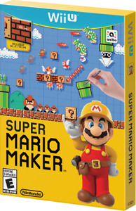 Wii U GAMES CHEAP - super mario maker - $50